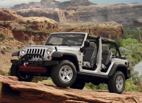 Jeep Wrangler Unlimited Parts